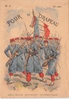 POUR LE DRAPEAU N°4 - Histoire- Nouvelle Imagerie Patriotique. Chromotypographie A.Quantin.Paris - Storia