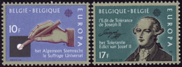 Belgique - Europa CEPT 1982 - Yvert Nr. 2048/2049 - Michel Nr. 2100/2101  ** - Europa-CEPT