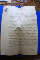 1882 MARTIGUES FAUBOURG DE JONQUIÈRE(SINETIR)AUGUSTIN COURTIN ETAT LIQUIDATIF PARTAGE SUCCESSION MANUSCRIT PAUL NOTAIRE - Manuskripte