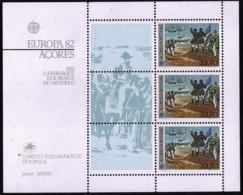 Açores BF - Europa CEPT 1982 - Yvert Nr. 3 - Michel Nr. Block 3  ** - Europa-CEPT