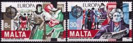 Malte - Europa CEPT 1982 - Yvert Nr. 649/650 - Michel Nr. 661/662  ** - Europa-CEPT