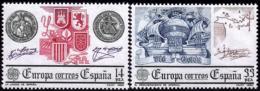 Espagne - Europa CEPT 1982 - Yvert Nr. 2285/2286 - Michel Nr. 2545/2546  ** - Europa-CEPT