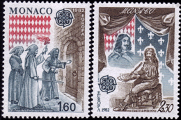 Monaco - Europa CEPT 1982 - Yvert Nr. 1322/1323 - Michel Nr. 1526/1527  ** - Europa-CEPT