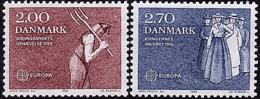 Danemark - Europa CEPT 1982 - Yvert Nr. 752/753 - Michel Nr. 749/750  ** - Europa-CEPT