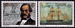 Yougoslavie- Europa CEPT 1982 - Yvert Nr. 1804/1805 - Michel Nr. 1919/1920  ** - Europa-CEPT