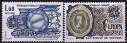 France - Europa CEPT 1982 - Yvert Nr. 2207/2208 - Michel Nr. 2329/2330  ** - Europa-CEPT