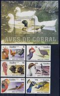 Poultry - Cuba 2006 -  Block + Set MNH** - Fattoria