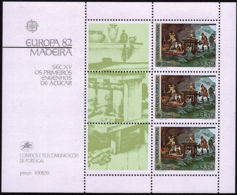 Madère BF - Europa CEPT 1982 - Yvert Nr. 3 - Michel Nr. Block 3  ** - Europa-CEPT