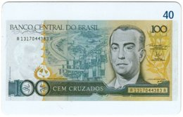 BRASIL M-821 Magnetic BrasilTelecom - Collection, Bank Note - Used - Brésil
