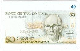BRASIL M-822 Magnetic BrasilTelecom - Collection, Bank Note - Used - Brésil