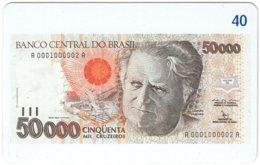 BRASIL M-823 Magnetic BrasilTelecom - Collection, Bank Note - Used - Brésil