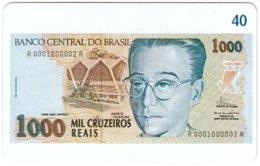 BRASIL M-824 Magnetic BrasilTelecom - Collection, Bank Note - Used - Brésil