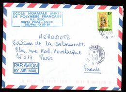 POLYNESIE Ile De TAHITI Enveloppe Cover PIRAE 03 05 1999 - Lettres & Documents