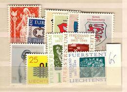 1965 MNH Liechtenstein, Year Complete According To Michel - Liechtenstein