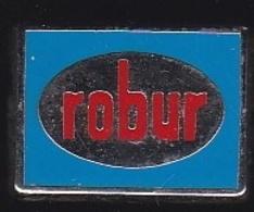 66294-Pin's.Robur Commercialise Des Vêtements Pour Cuisinier Et Restauration .signé Decat Paris. - Merken