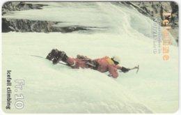 SWITZERLAND C-839 Prepaid Teleline - Leisure, Ice Climbing - Used - Svizzera