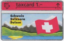 SWITZERLAND C-880 Hologram Private - Flag Of Switzerland - 208L - MINT - Svizzera
