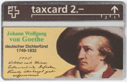 SWITZERLAND C-947 Hologram Private - Poet, Johann Wolfgang Von Goethe - 324L - MINT - Svizzera