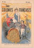 LES COLONIES FRANÇAISES  N°16 - Histoire- Nouvelle Imagerie Patriotique. Chromotypographie A.Quantin.Paris - Storia