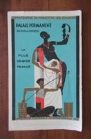Paris - Exposition Coloniale Internationale 1931, Colonies, Palais Permanent, Section De Synthèse, Illustration Art Déco - Dépliants Touristiques