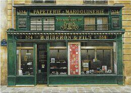 CPM - édit. CLAUDE AUBERT - RF 64 - B. BIBERON & FILS, Par ANDRE RENOUX - Shops