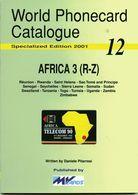 WORLD PHONECARD CATALOGUE-12-africa 3 (R-Z) - Kataloge & CDs