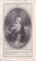 IMAGE PIEUSE Religieuse Vers 1880 De Letaille - Religion Catholique Catholicisme - NOEL - Le Docteur Des Pauvres - Devotieprenten