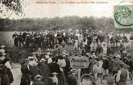 54-MARS-LA-TOURS- LA FRONTIERE AU 16 AOUT 1906 A 3 HEURES - Autres Communes