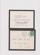 CARTE DE REMERCIEMENTS à MAUBEUGE (NORD) 1969 - Devotieprenten