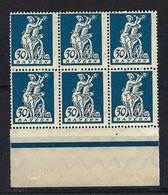ALLEMAGNE Bavière 1920:  Bloc De 6 BDF Du Y&T 181,  Neufs** - Bayern