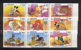 GRENADA - MNH - WALT DISNEY - CARTOONS - MI.NO.2822/30 - CV = 10 € - Grenada (1974-...)