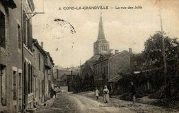54-CONS-LA-GRANDVILLE- LA RUE DES JUIFS - Autres Communes