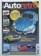 AUTORETRO NO 291 Alpine A110 1600S - Auto/Motor