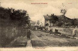 54-BERNECOURT- LA RUE DES JUIFS - Autres Communes