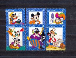 GRENADA - MNH - WALT DISNEY - CARTOONS - MI.NO.3066/71 - CV = 7,5 € - Disney