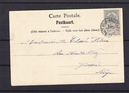 N° 53 / Carte De L AMBULANT Bruxelles Arlon N° 2 - 1893-1907 Stemmi