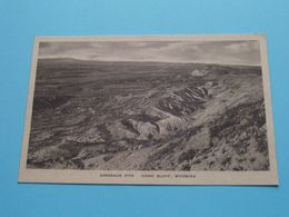 DINOSAUR PITS - COMO BLUFF, Wyoming ( T. Boylan, 1934 ) Anno 19?? ( See Scans ) ! - Other