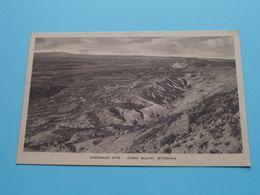 DINOSAUR PITS - COMO BLUFF, Wyoming ( T. Boylan, 1934 ) Anno 19?? ( See Scans ) ! - Etats-Unis