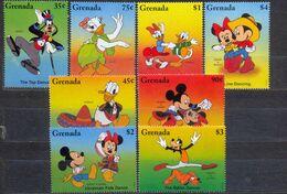 GRENADA - MNH - WALT DISNEY - CARTOONS - MI.NO.3144/51 - CV = 11 € - Grenada (1974-...)