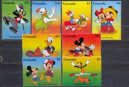 GRENADA - MNH - WALT DISNEY - CARTOONS - MI.NO.3144/51 - CV = 11 € - Disney