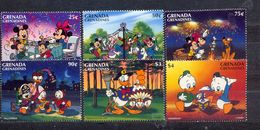 GRENADA - MNH - WALT DISNEY - CARTOONS - MI.NO.2219/24 - CV = 12 € - Disney