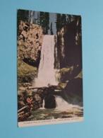 TUMALO FALLS, CASCADE MTS., Near BEND, Oregon () Anno 1944 ( See Scans ) ! - Etats-Unis