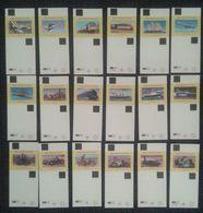 Matchbox Labels SPEEDTHROUGH THE AGES  (WHITE) 18 PCS  D-0376 - Boites D'allumettes - Etiquettes