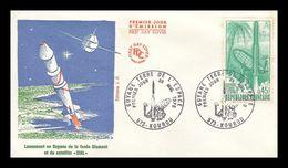 """1 07307-PJ Du Lancement De La Fusée """"DIAMANT"""" - 28/3/70 - Europe"""