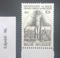 België 1982 Grootoosten Vrijmetselaarsloge - Belgio