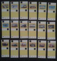 Matchbox Labels SPEEDTHROUGH THE AGES  (YELLOW) 18 PCS  D-0377 - Boites D'allumettes - Etiquettes