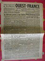 Journal Ouest-France N° 51 Du 4 Octobre 1944. Collaboration épuration Koenig FFI - Guerra 1939-45