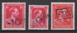 Belgique: 1946 :  COB N° 724a/c **, MNH. Cote COB 2020 : 12,30 € - 1946 -10%