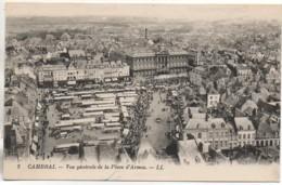 59 CAMBRAI Vue Générale De La Place D'Armes - Cambrai