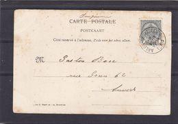 N° 53  / Carte De L AMBULANT Arlon  Bruxelles 1 - 1893-1907 Stemmi